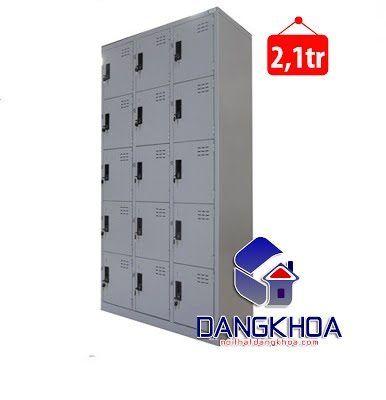 Thanh lý Tủ sắt Locker 15 ngăn