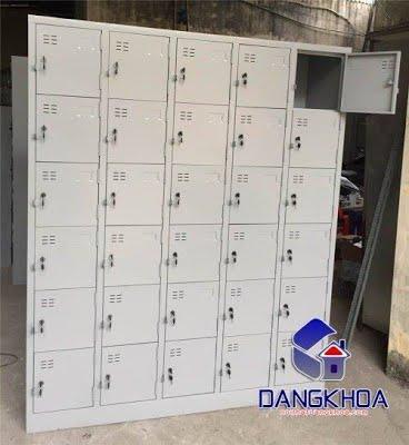 Thanh lý Tủ sắt locker 30 ngăn