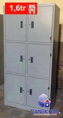 Thanh lý Tủ Locker 6 ngăn